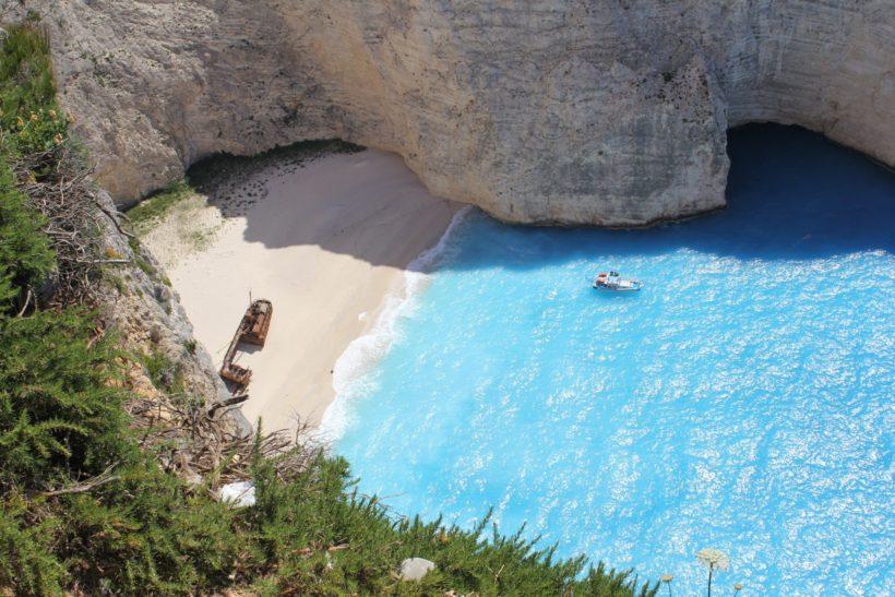 Wrack der Panagiotis auf Zakynthos am Navagio Beach